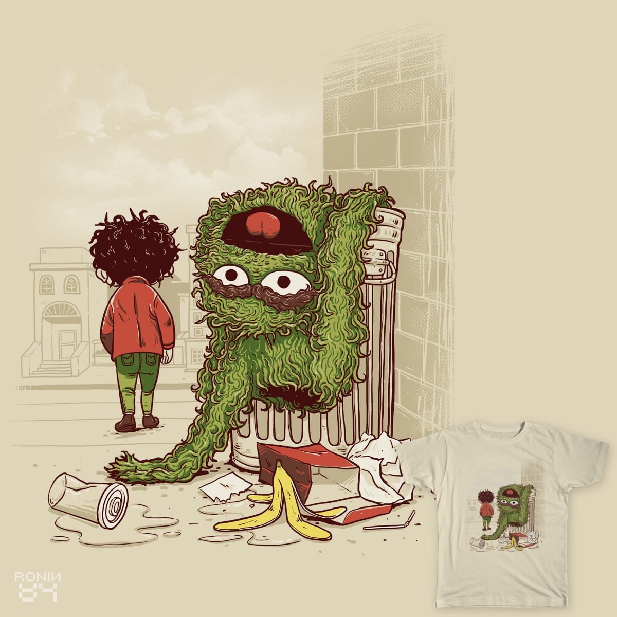 put away the toys..and become a man. by ronin84 on Threadless