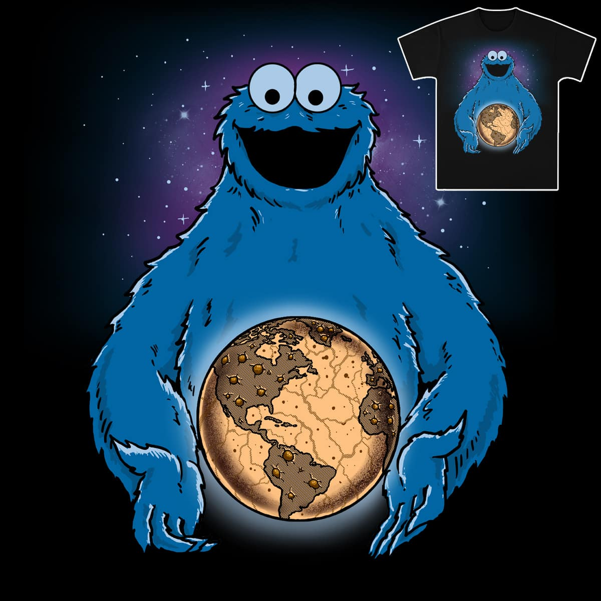 Cookie World by fathi on Threadless
