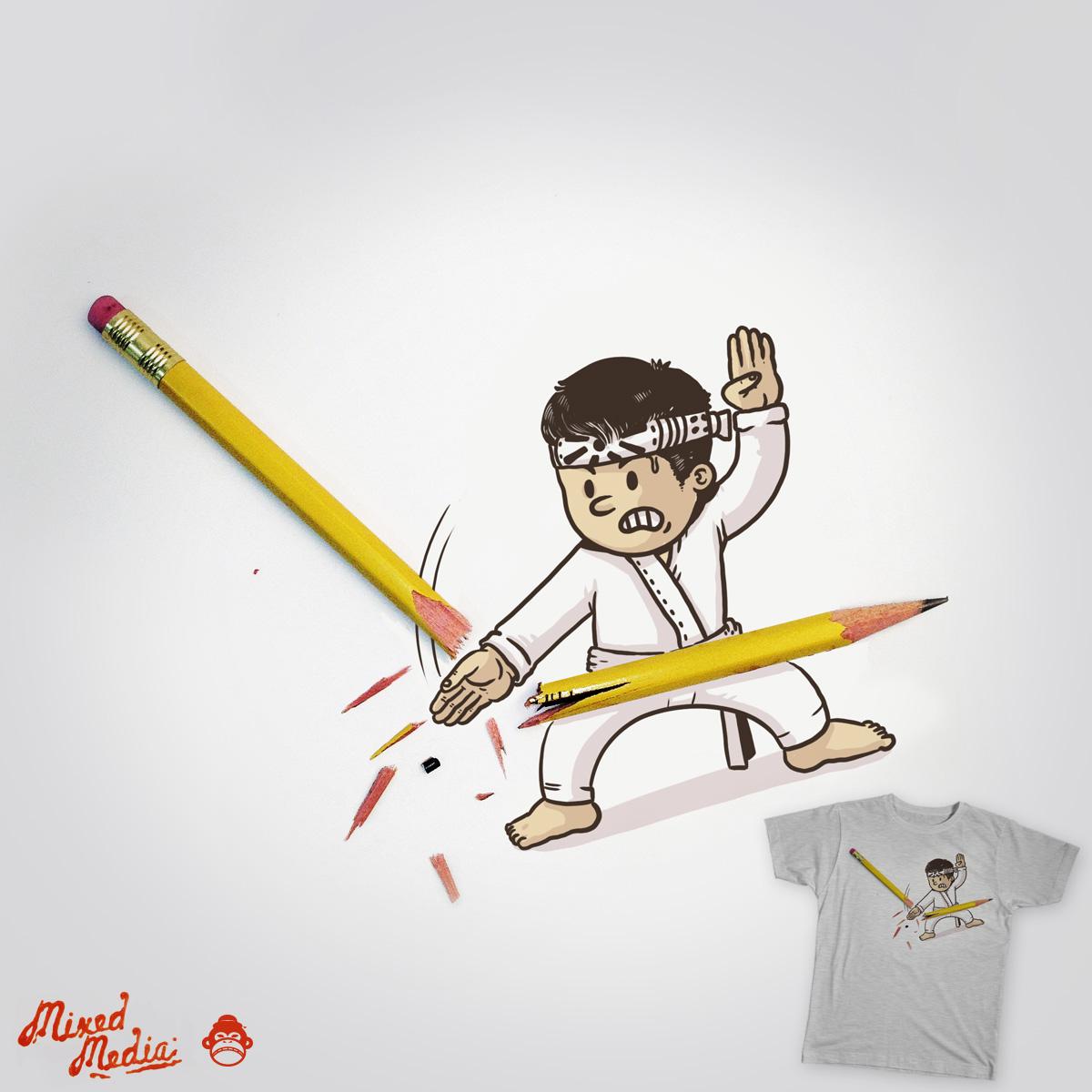 Karate Chop by alexmdc on Threadless