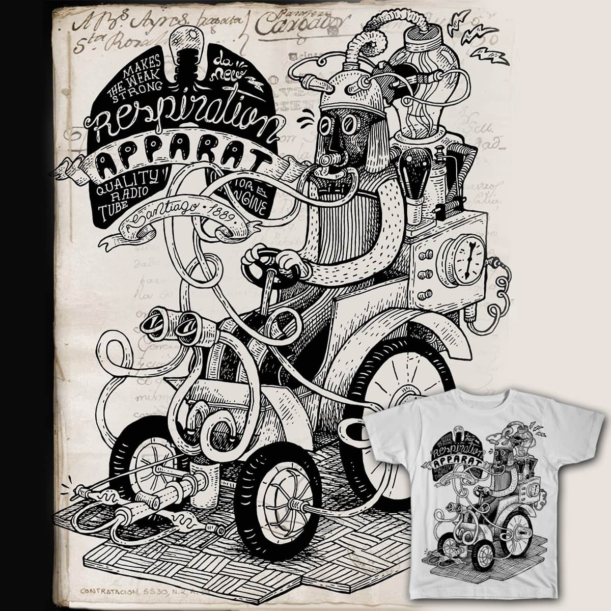 Respiration-Apparat by capdevila on Threadless