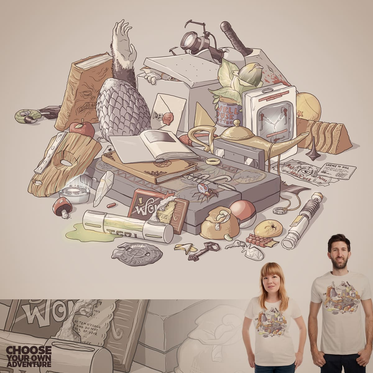 Choose your own Adventure by fightstacy on Threadless