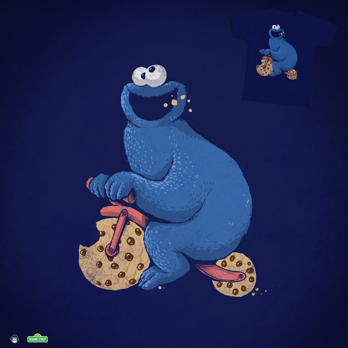Cookie Bike by alexmdc on Threadless