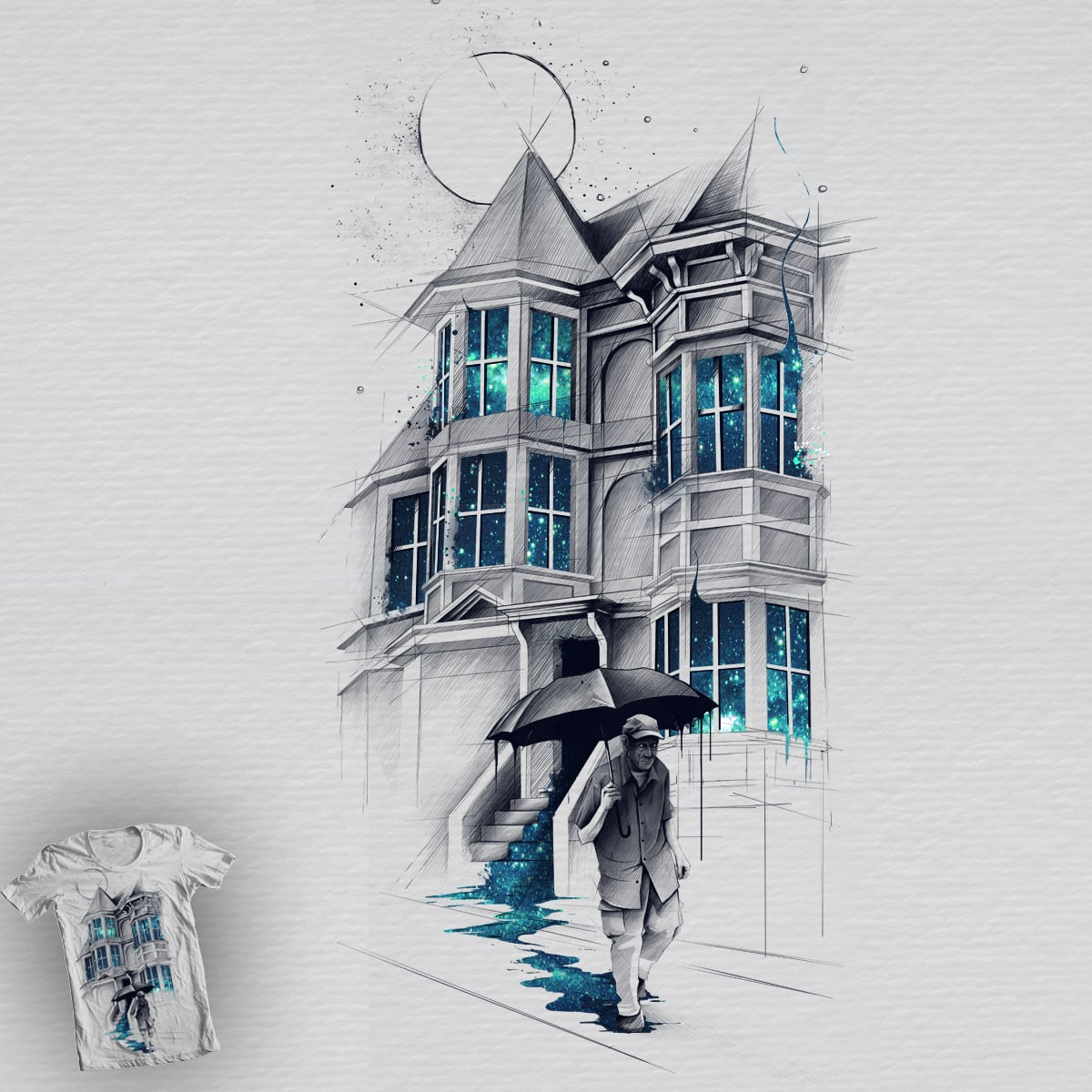 Stepping Out by CUBAN0 on Threadless