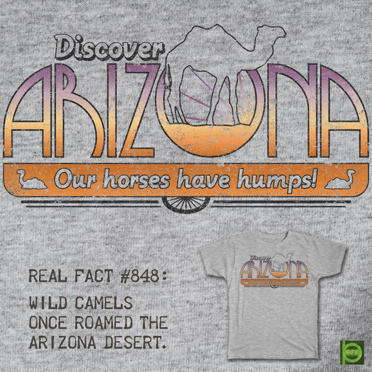Discover Arizona! by BeanePod on Threadless