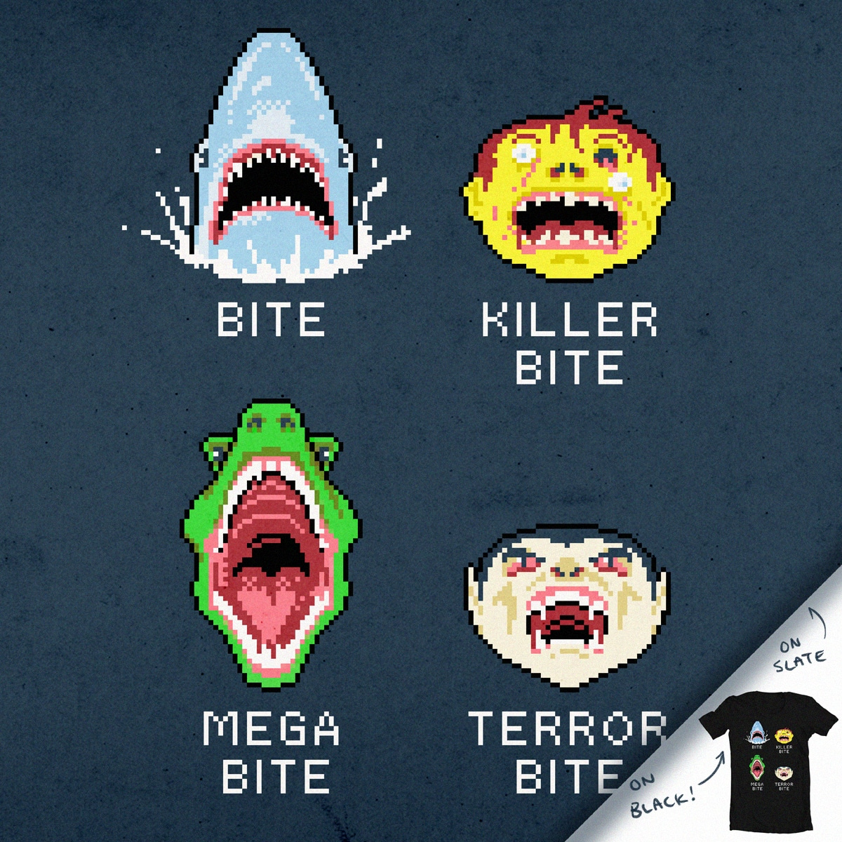 Bites by aled on Threadless