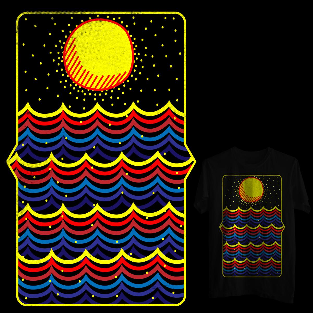 Imaginary sun by ndough on Threadless