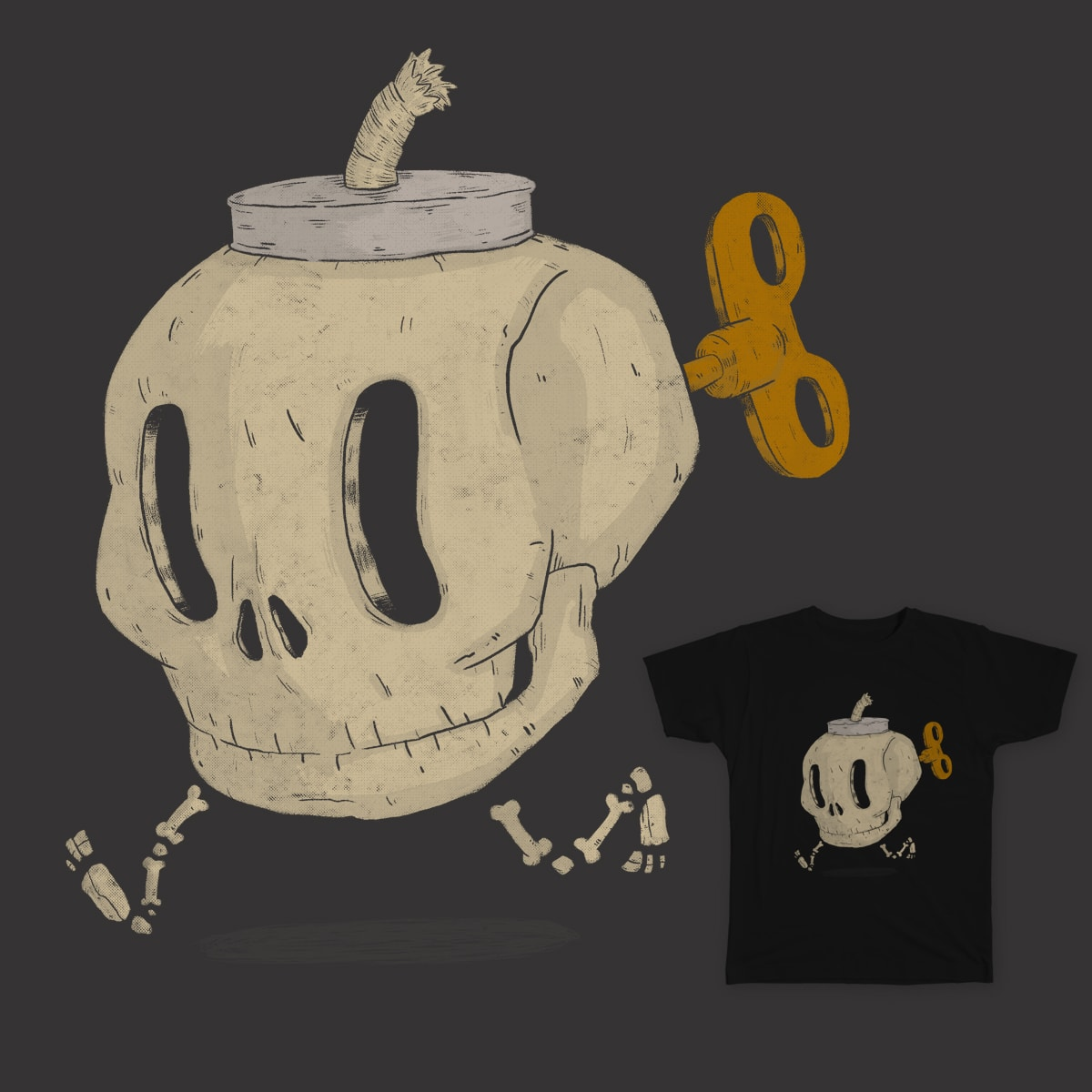 Skull Bomb by lxromero on Threadless