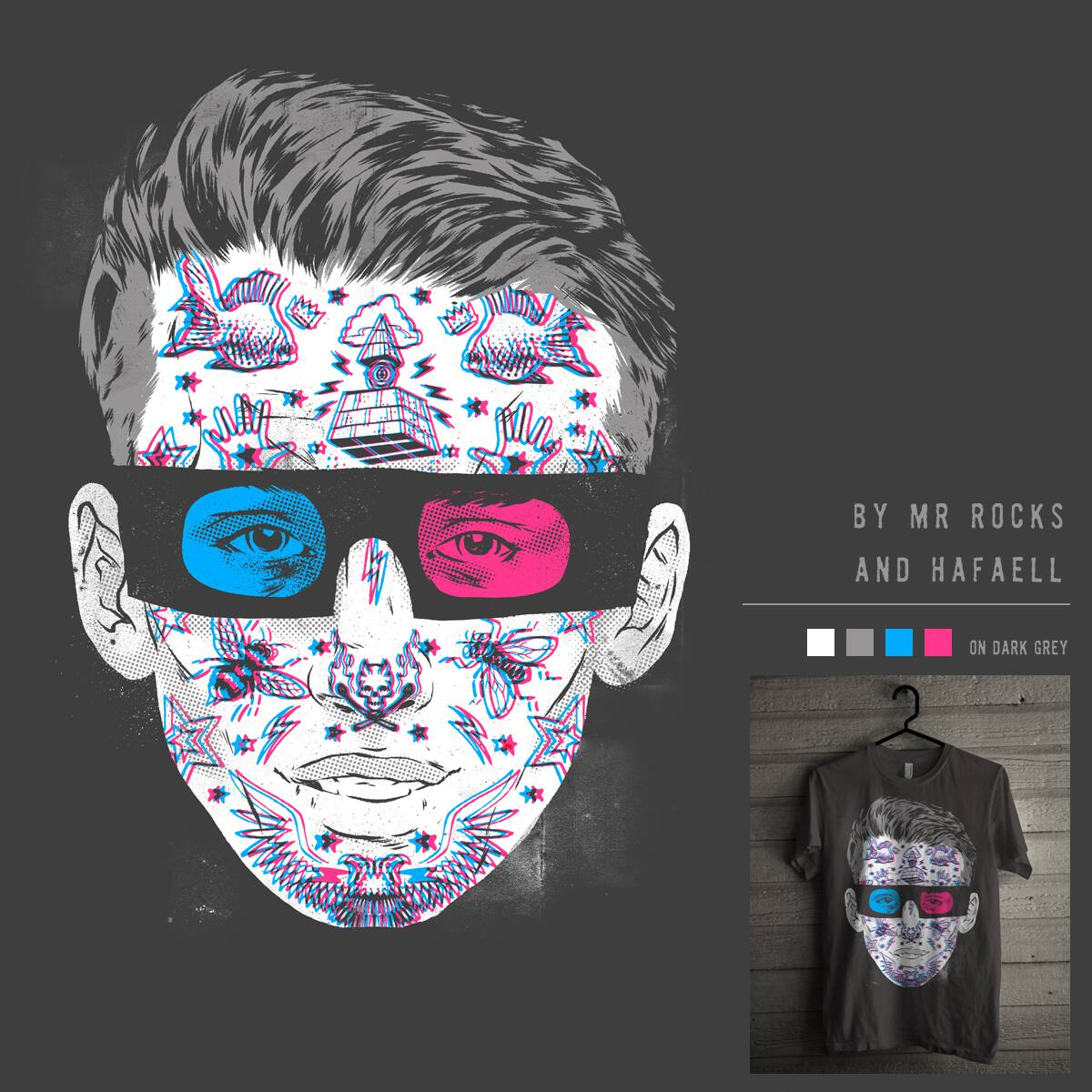 TATTOO3D by Mr Rocks and hafaell on Threadless
