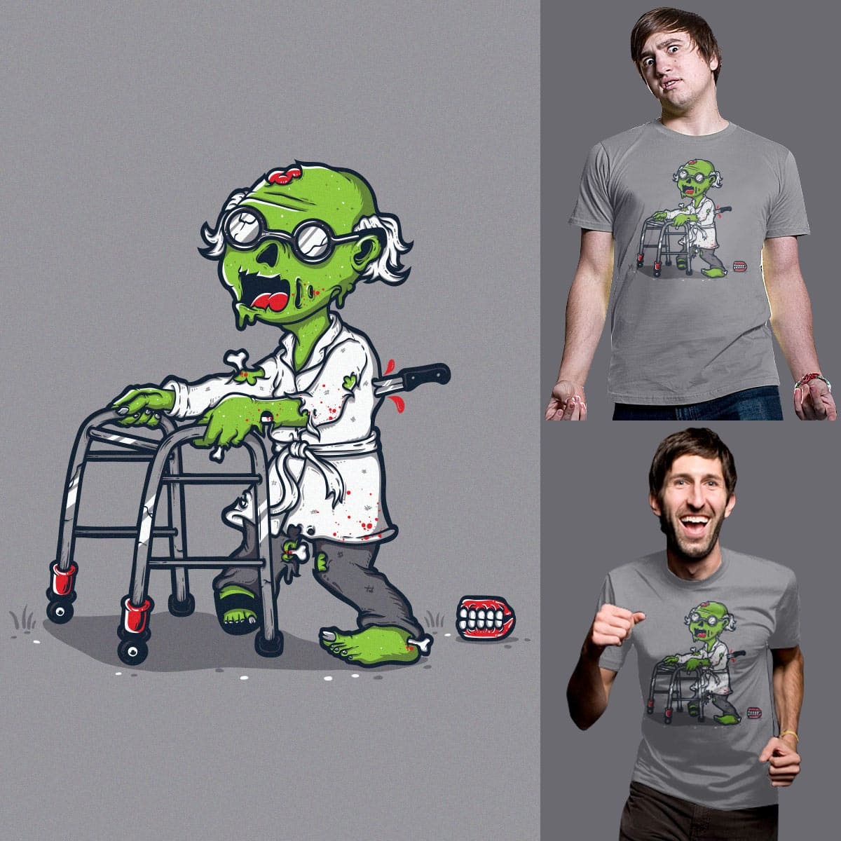 The Walker Dead by Robo Rat and rua_bloodrust on Threadless