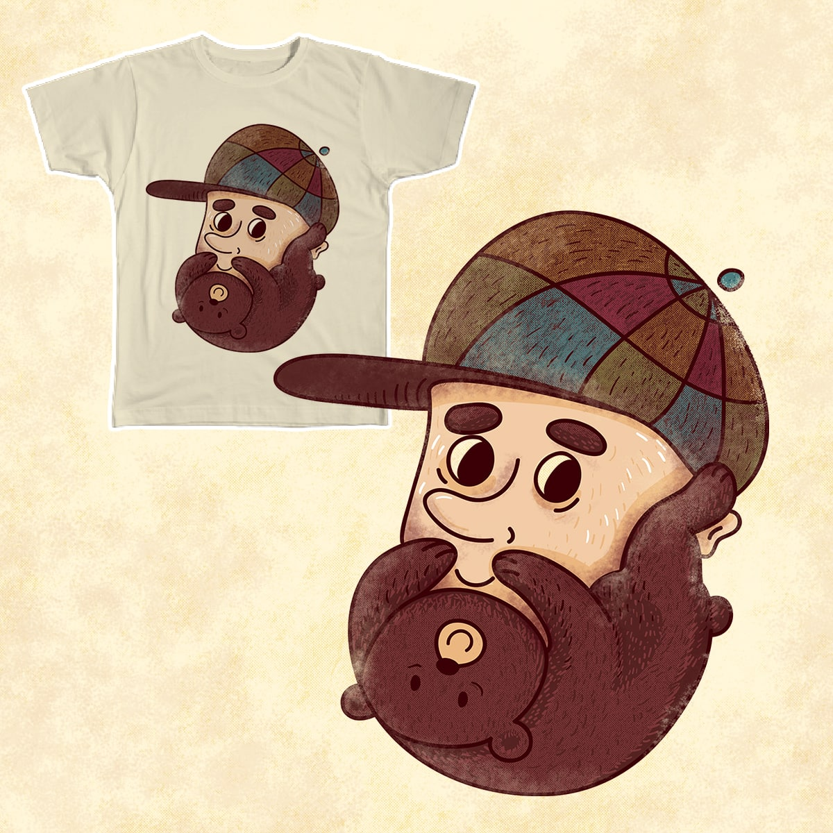 i like your bear-d. by Sr_Aderezo on Threadless