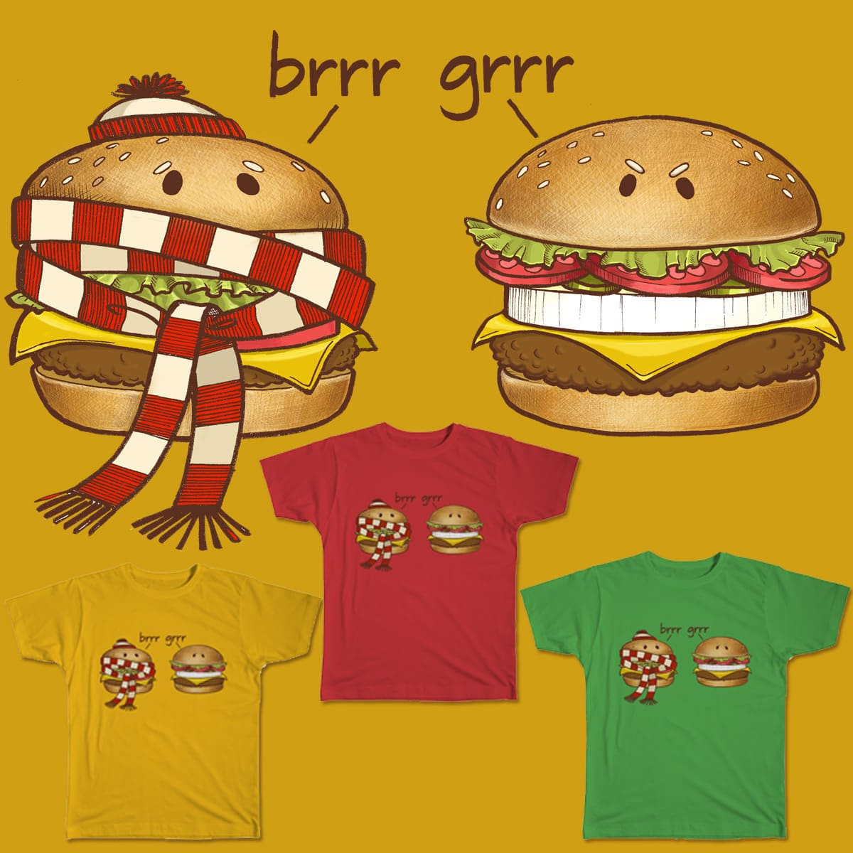 Fast Food Phonics by TOTALBABYCAKES on Threadless