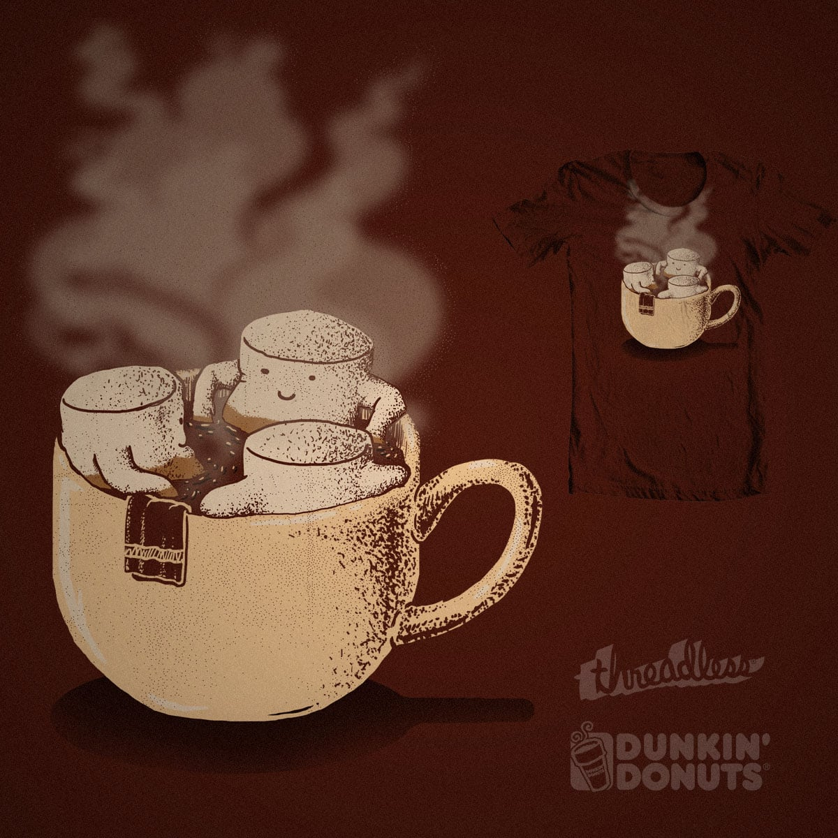 Bath-mallows by lugepuar and Ana lucia Puente on Threadless