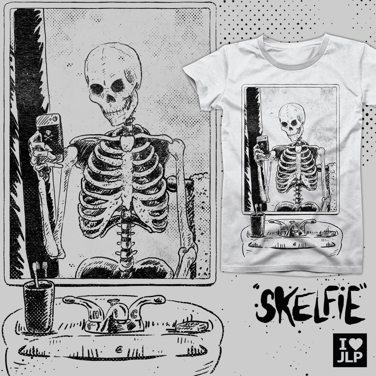 SKELFIE by iheartjlp on Threadless