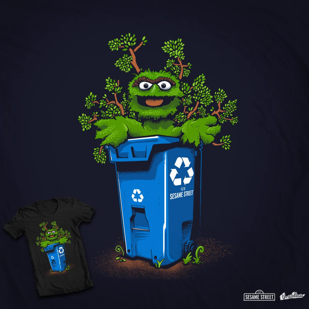 Love Recycling, Too! by RonanL on Threadless
