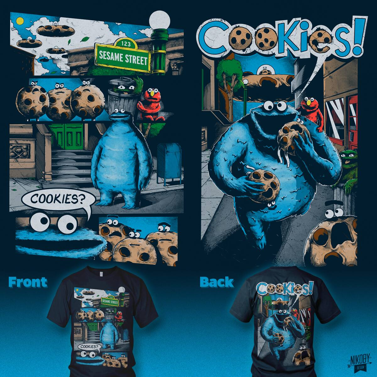 The Day the Cookies Crumbled by nikoby on Threadless