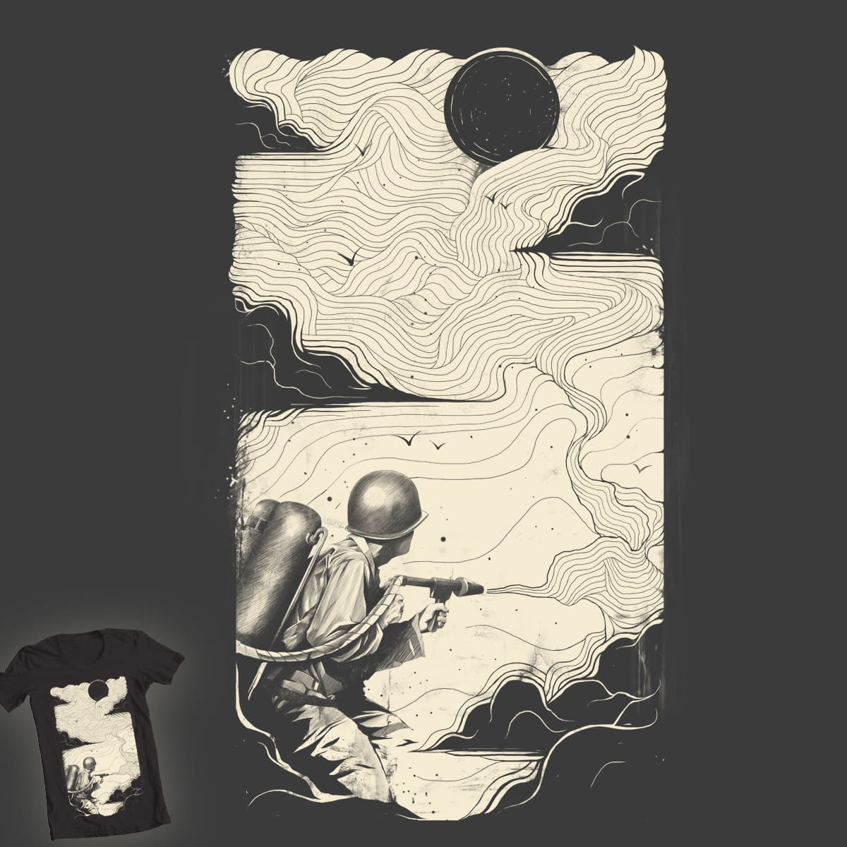 Sky Thrower by CUBAN0 on Threadless
