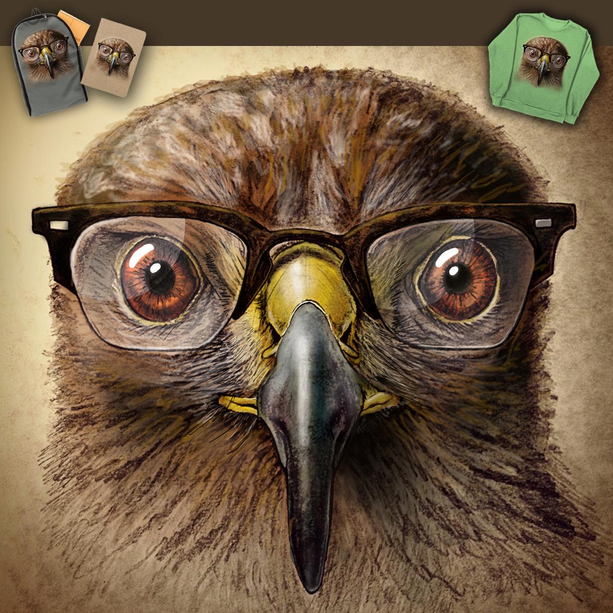 Hipster National Bird by Werkmeister on Threadless