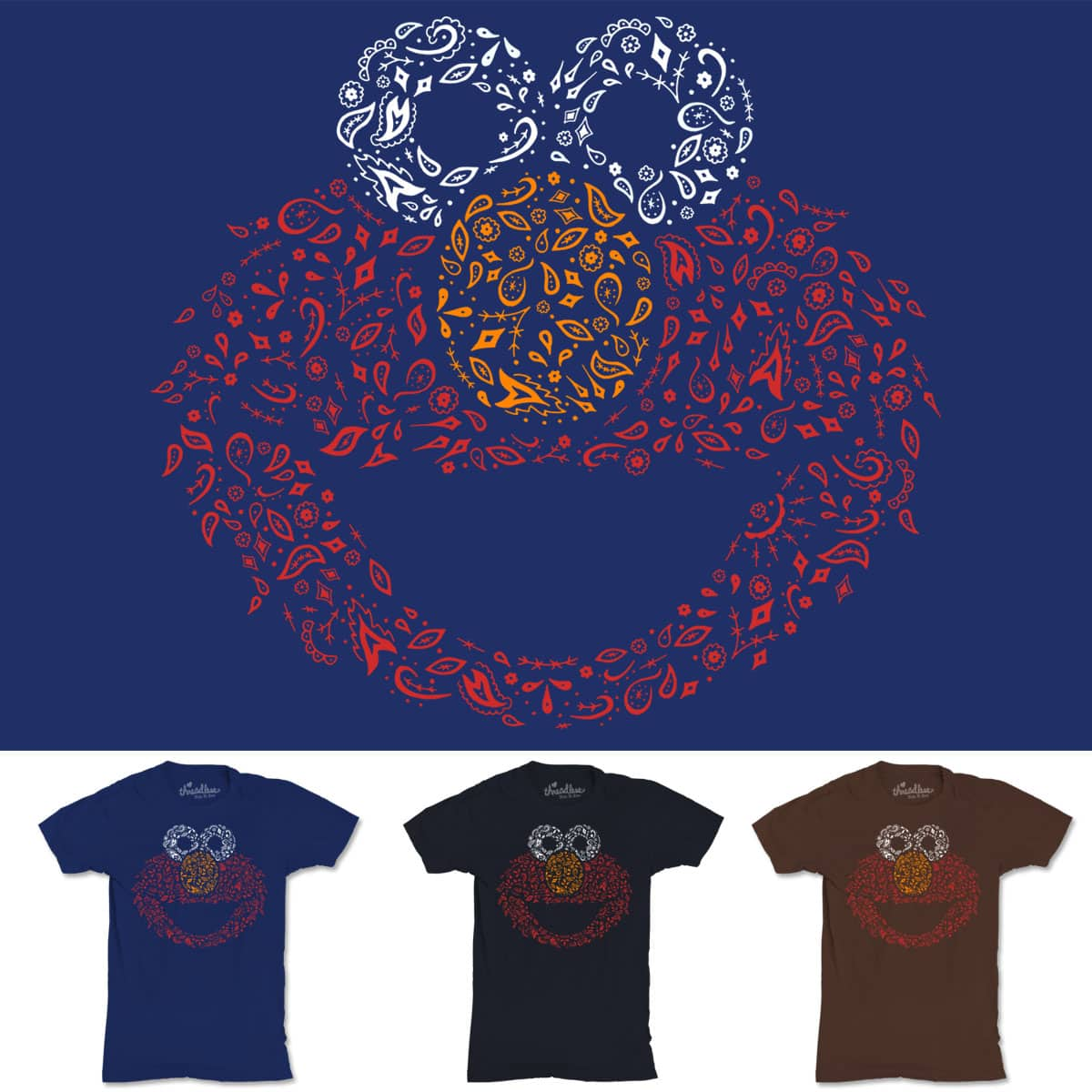 Ornate Elmo by mofugger69 on Threadless