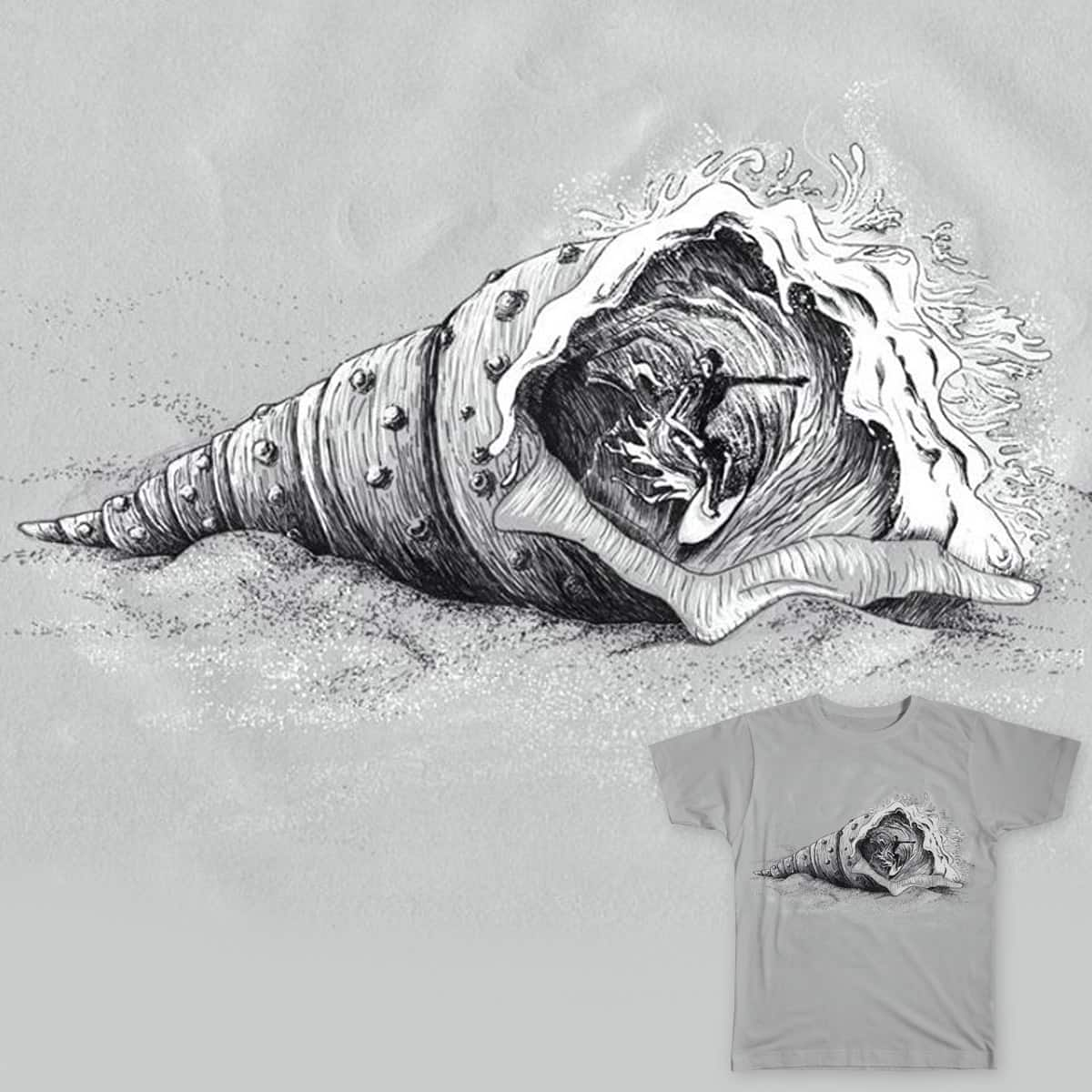 Shell Surf by Leandro Lima on Threadless