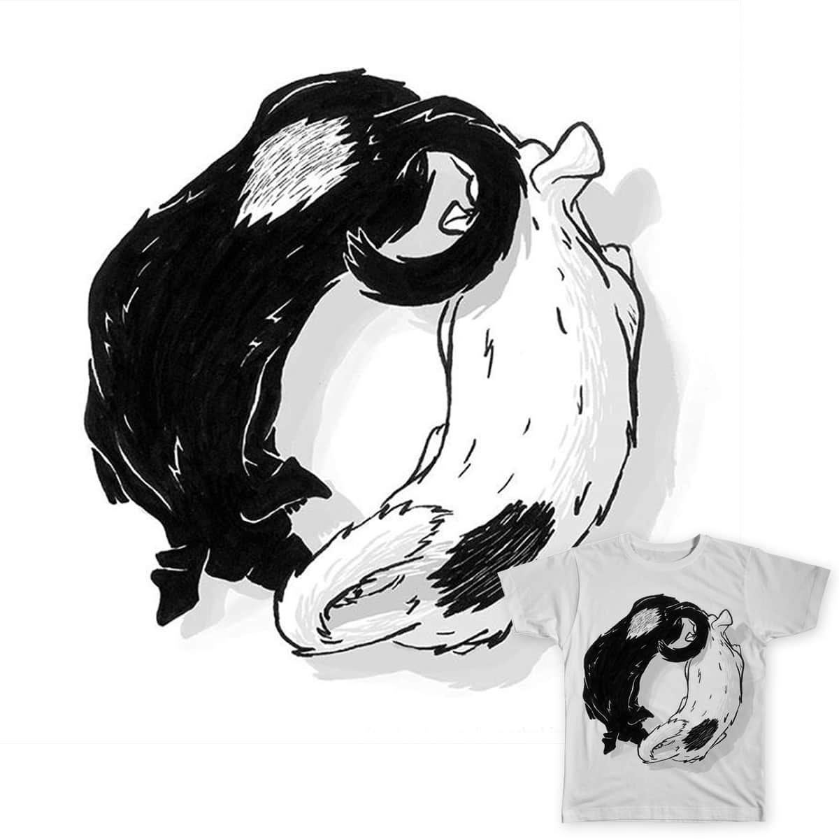 Snif Yang by Leandro Lima on Threadless