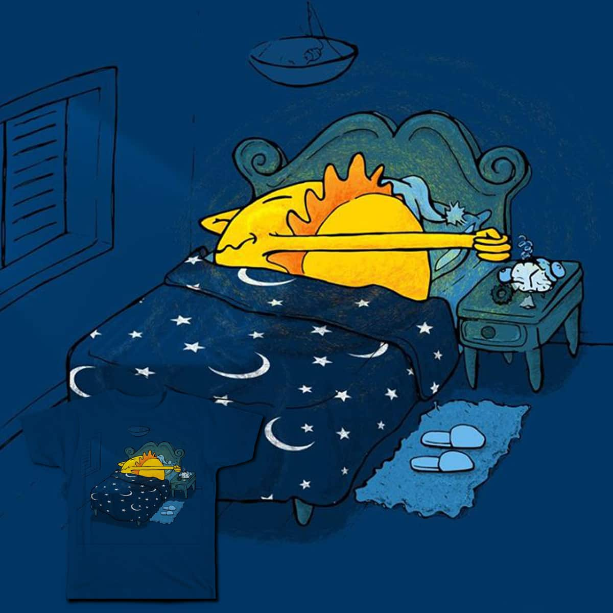 Snooze by Leandro Lima on Threadless