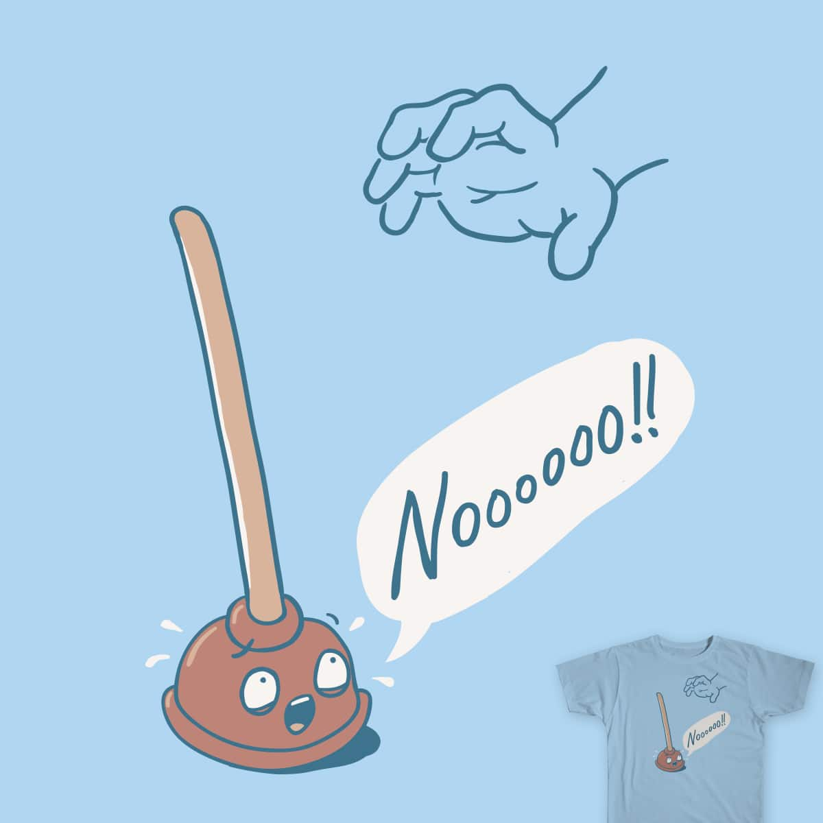 Pending Plunge by murraymullet and davidfromdallas on Threadless