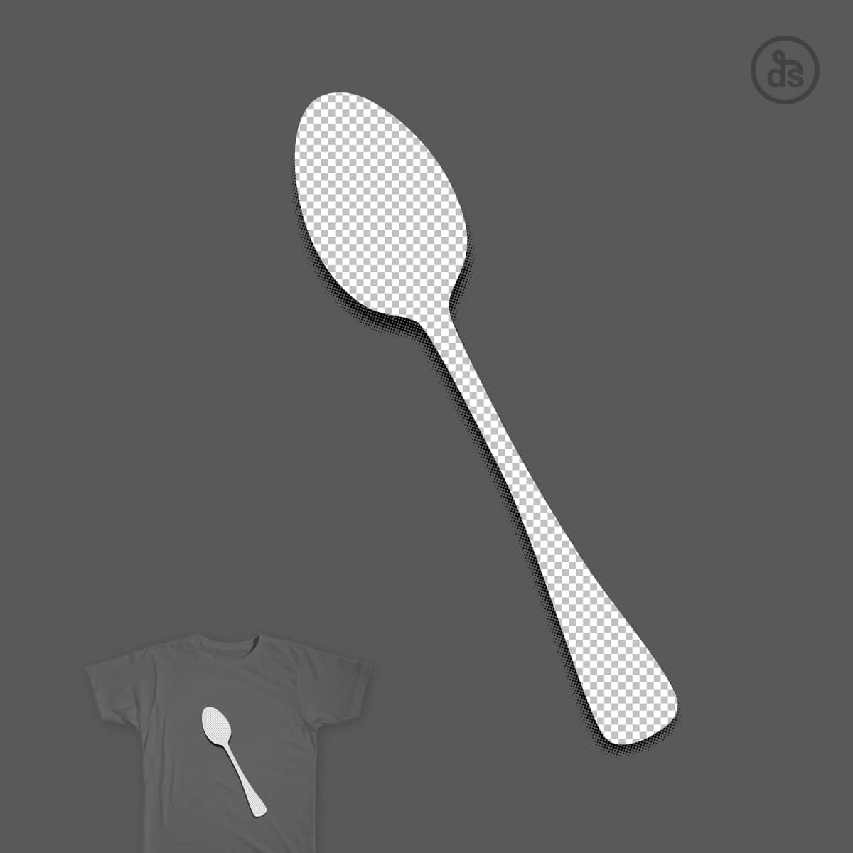 There is No Spoon by dschwen on Threadless