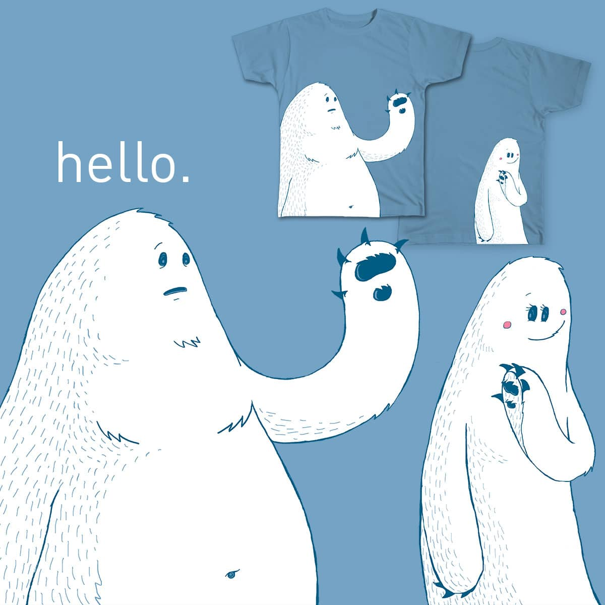 Hello. by nganci on Threadless