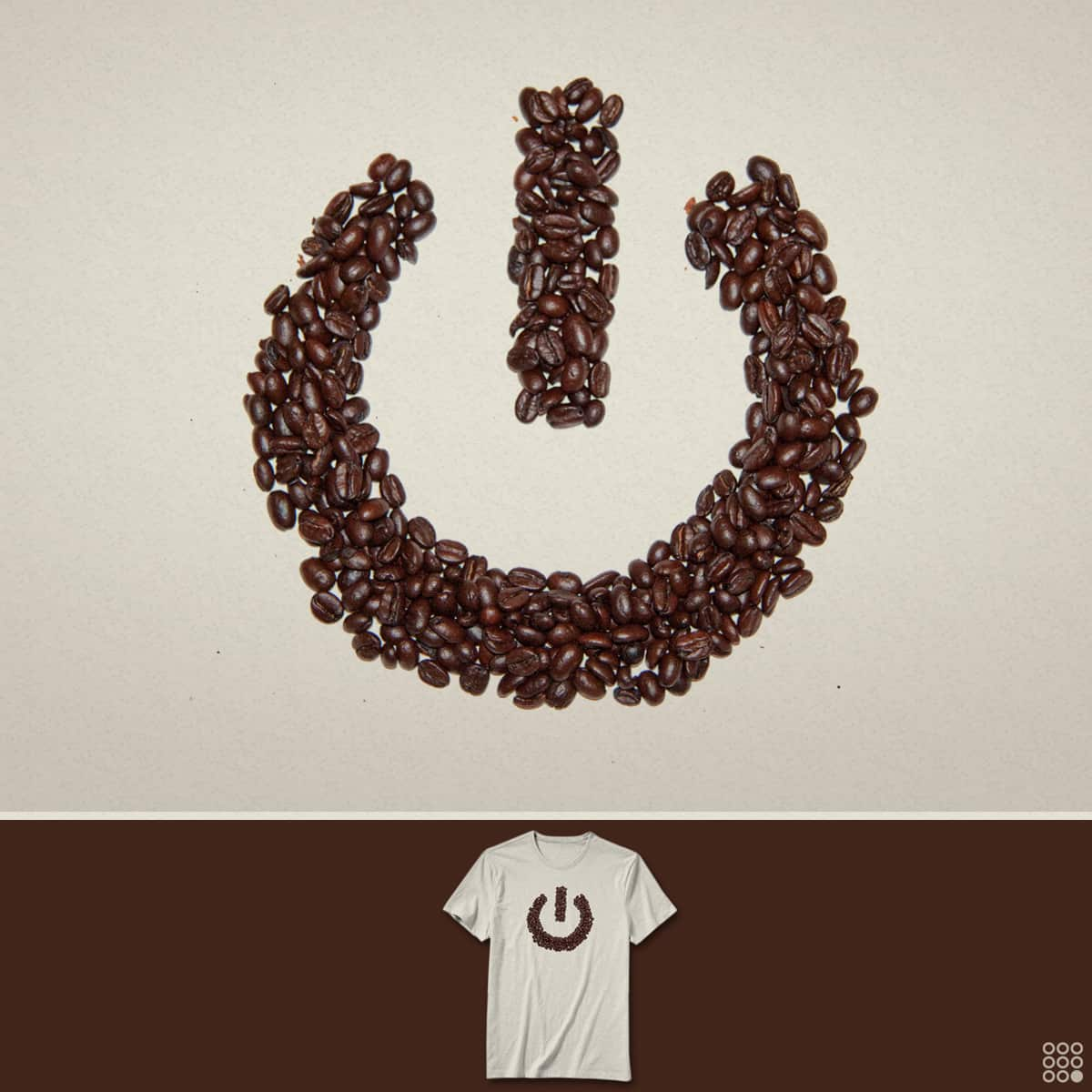 Powered By Coffee. by NiNTH WHEEL on Threadless