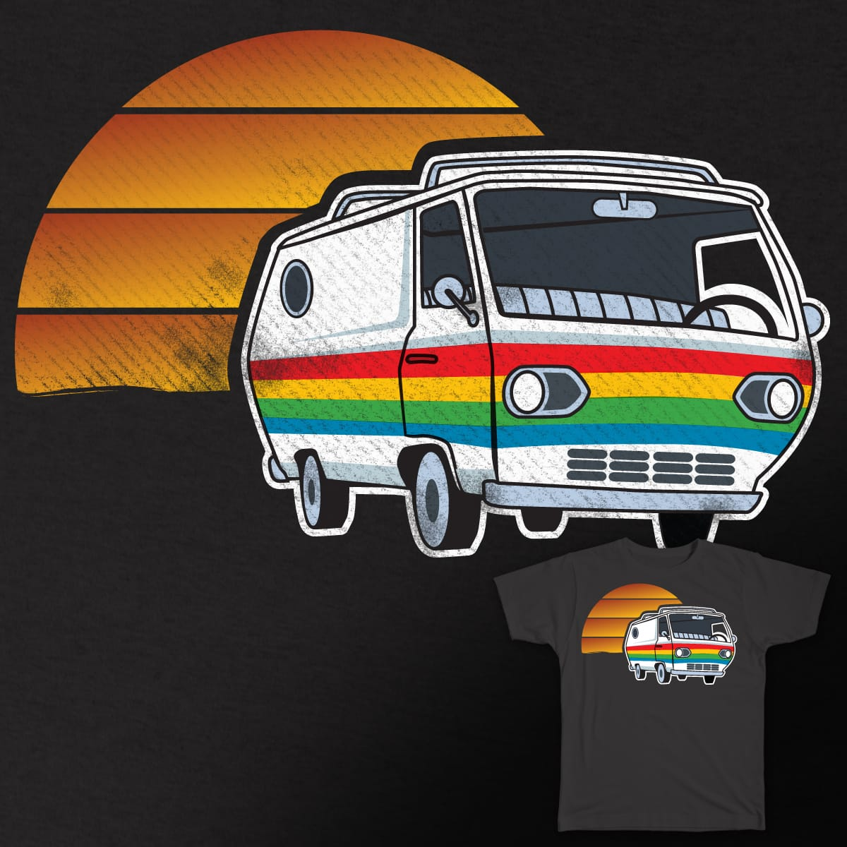 Road Trip! by Cfmenz on Threadless