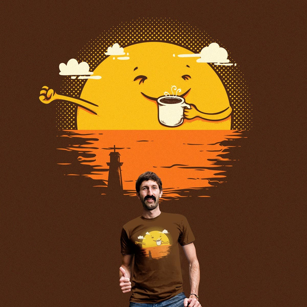 Start the day right by Robo Rat and rua_bloodrust on Threadless
