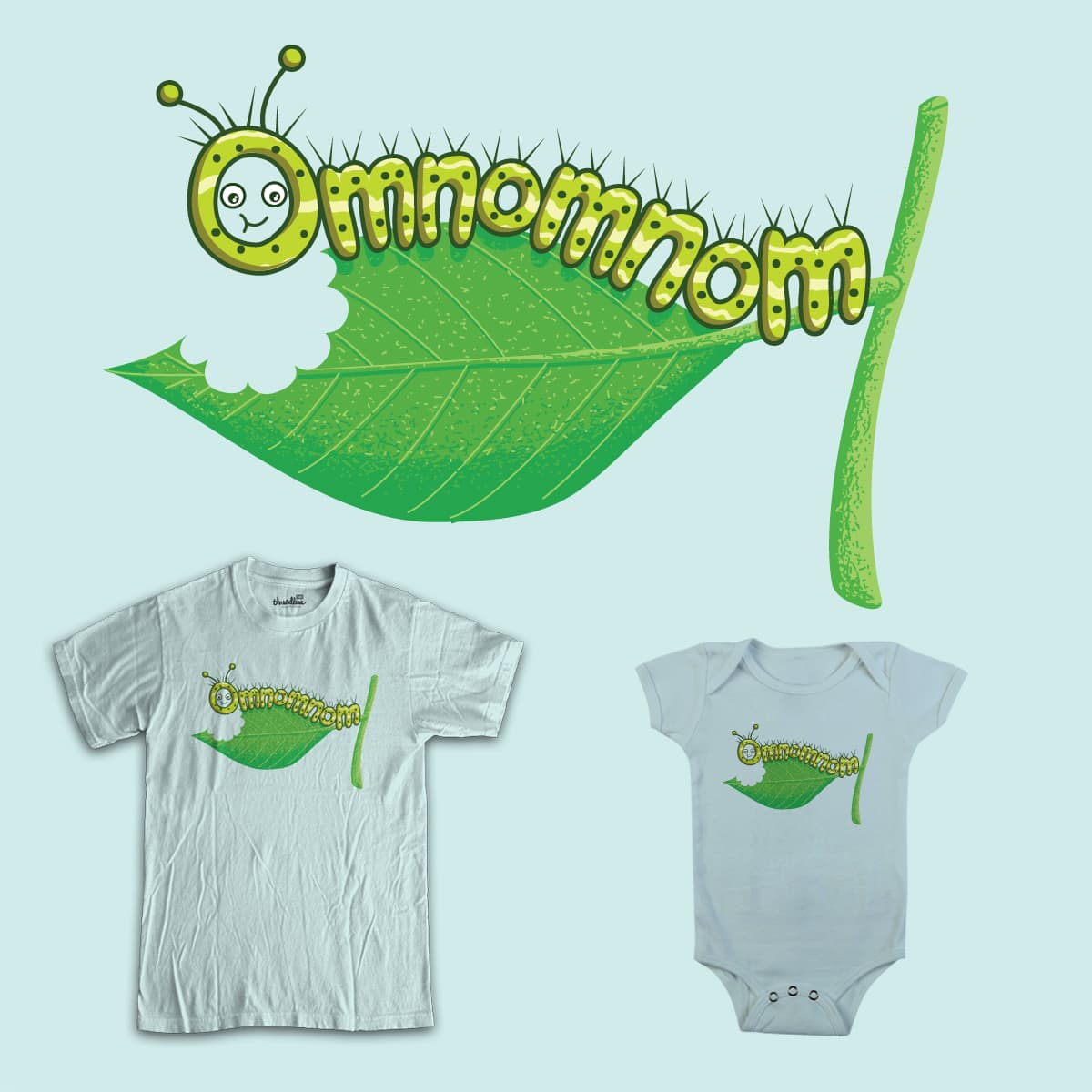 The Very Hungry Caterpillar by staffell on Threadless