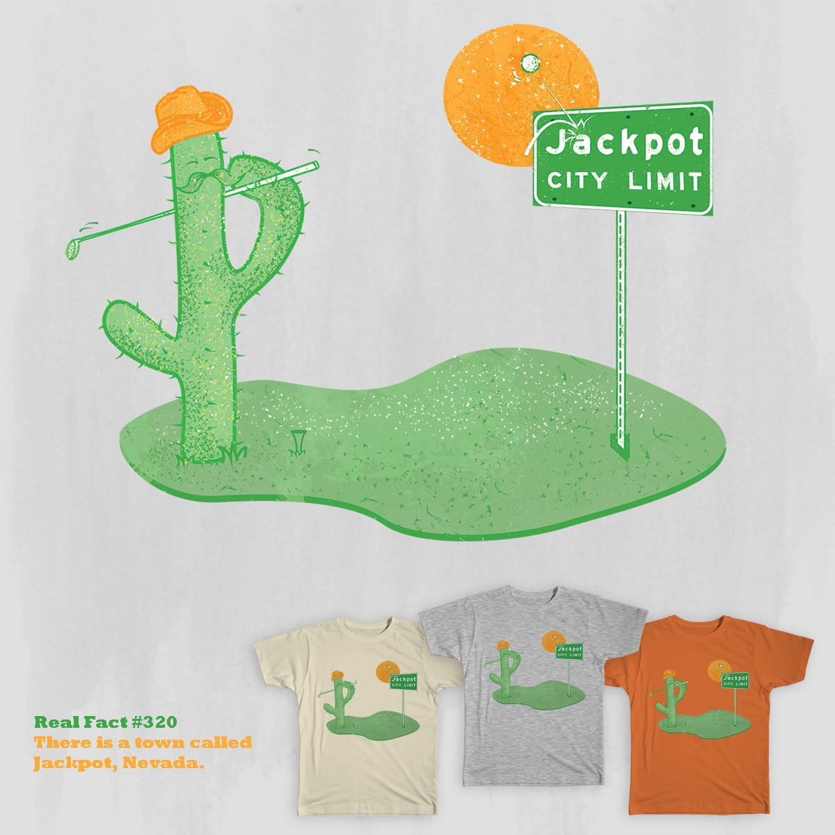 Hitting the jackpot...um...sign... by LStrider on Threadless