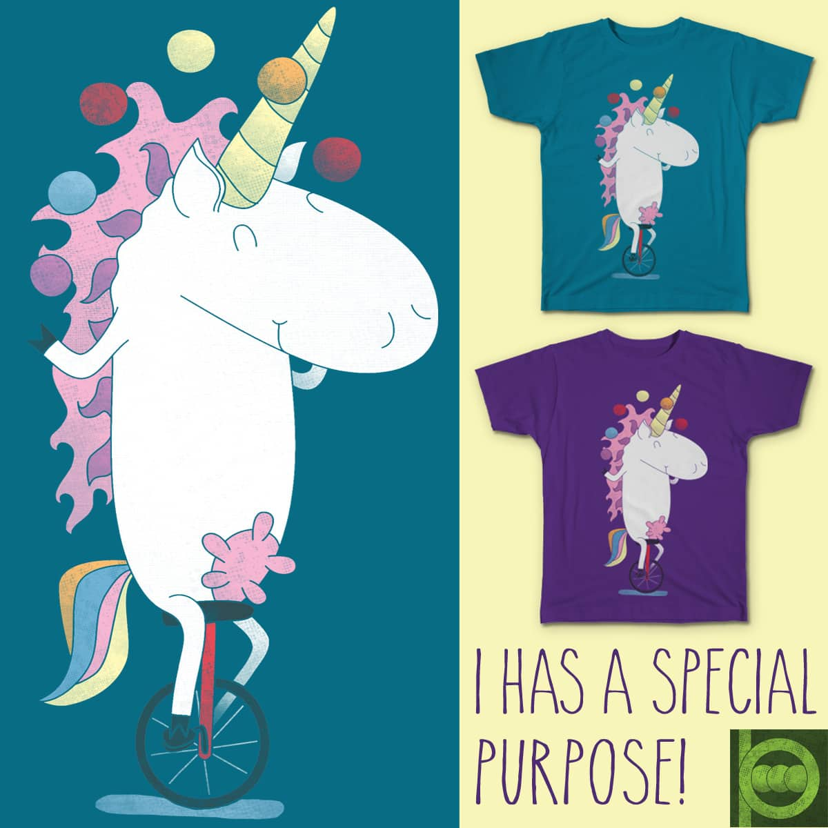 I HAS A SPECIAL PURPOSE! by BeanePod on Threadless