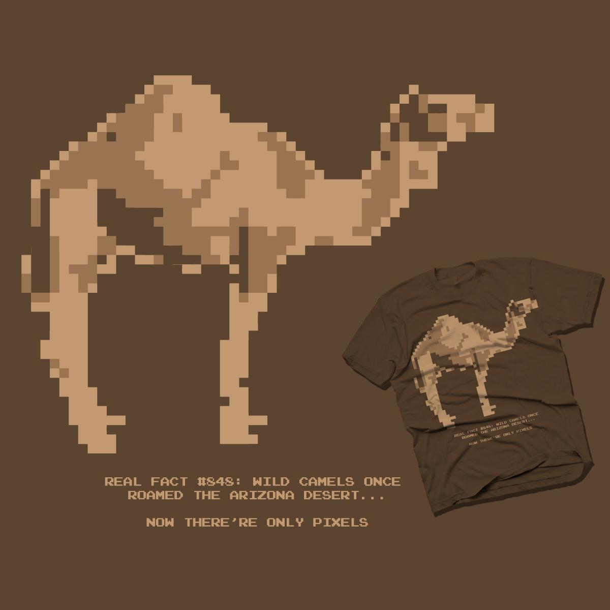 DIGITAL CAMEL by chakz on Threadless