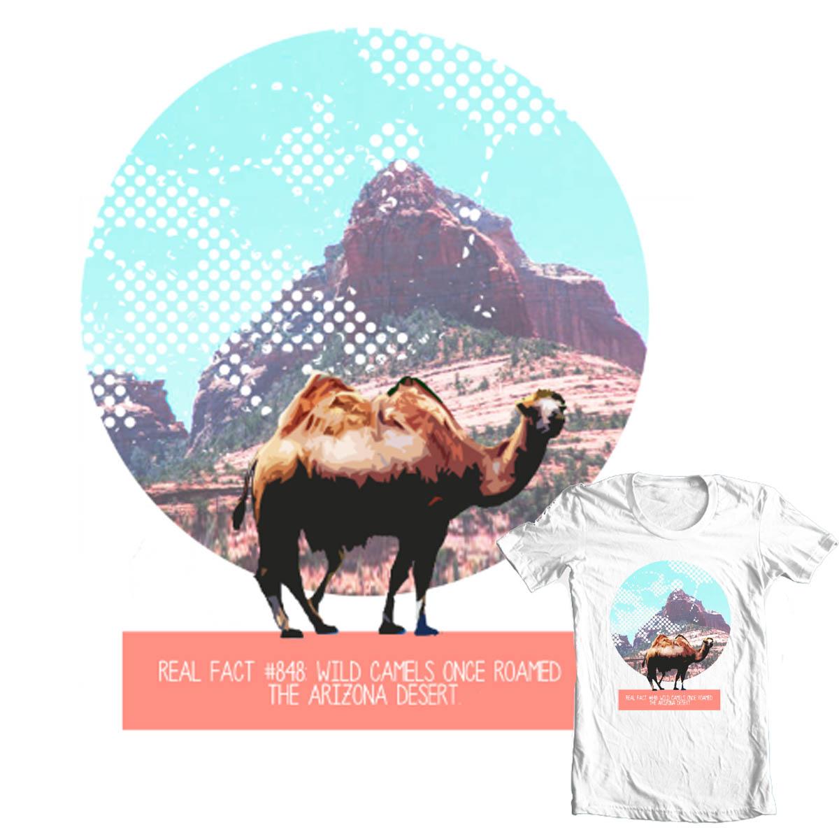 Arizona Camel by kershiz.no3 on Threadless