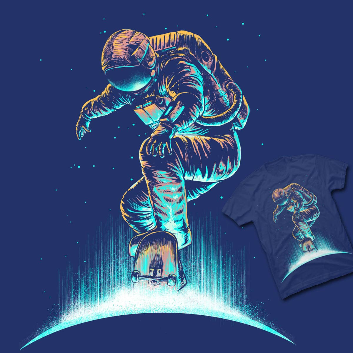 space grind by bokien and digitalcarbine on Threadless