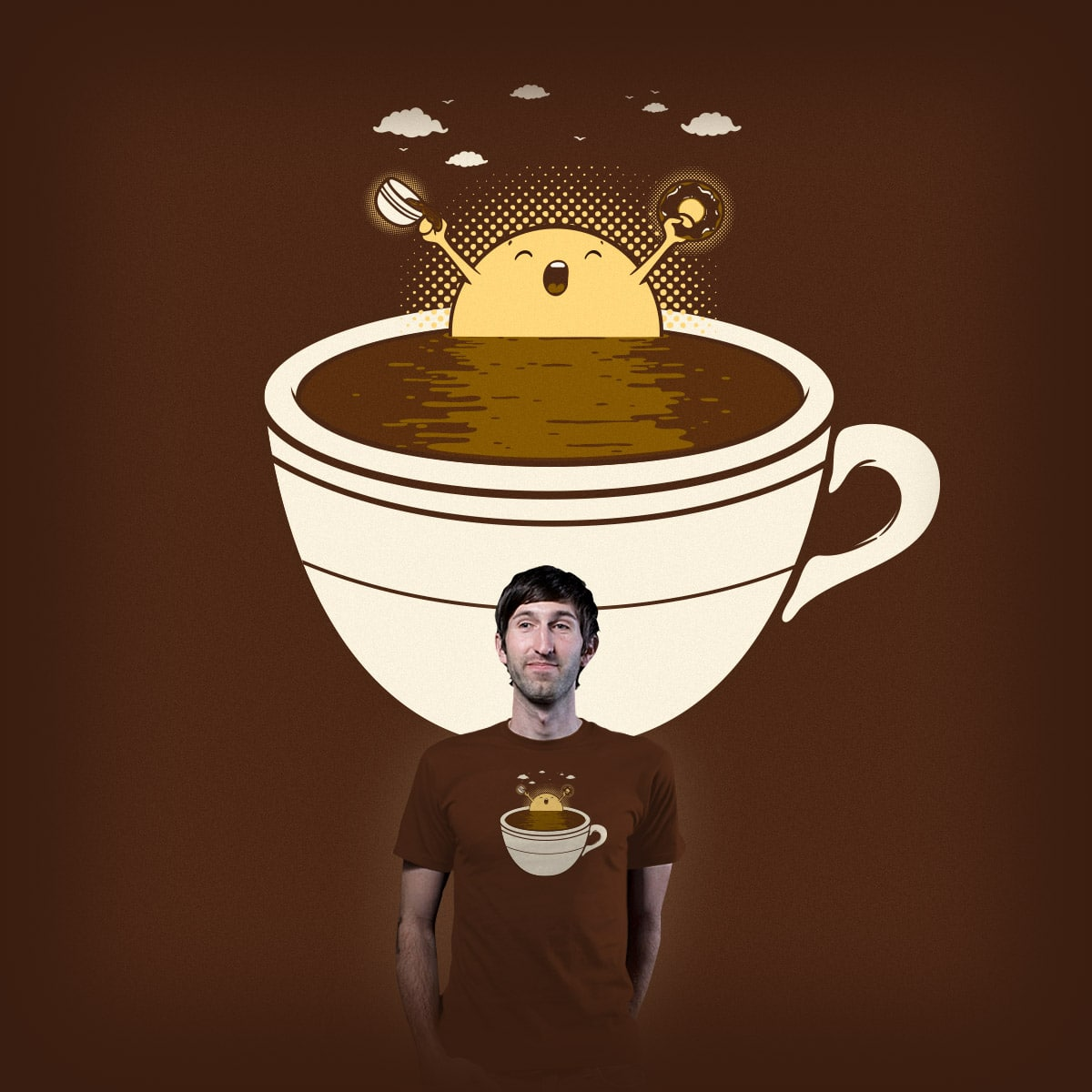 Wake Cup by Robo Rat on Threadless