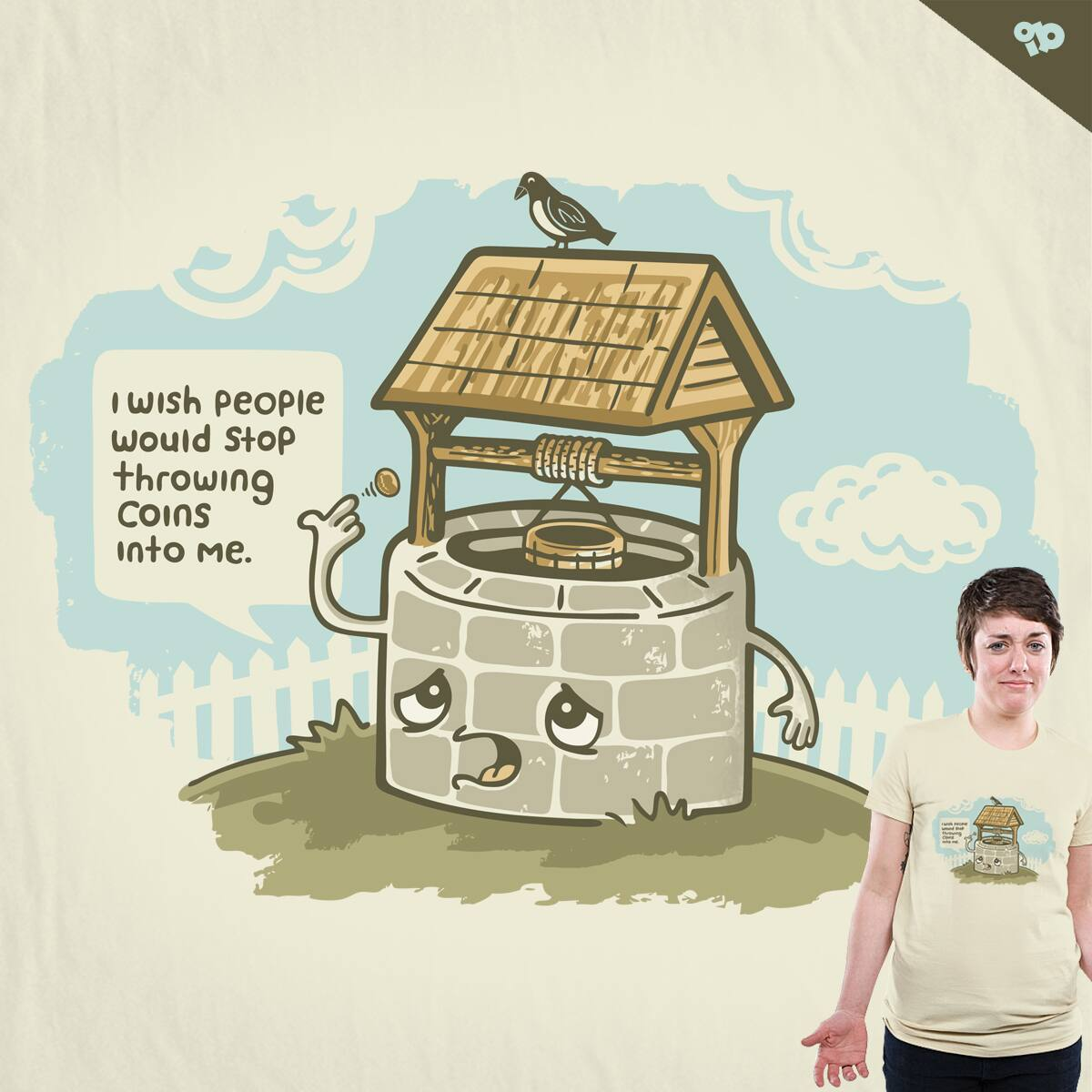 Wishful Thinking by ibyes on Threadless