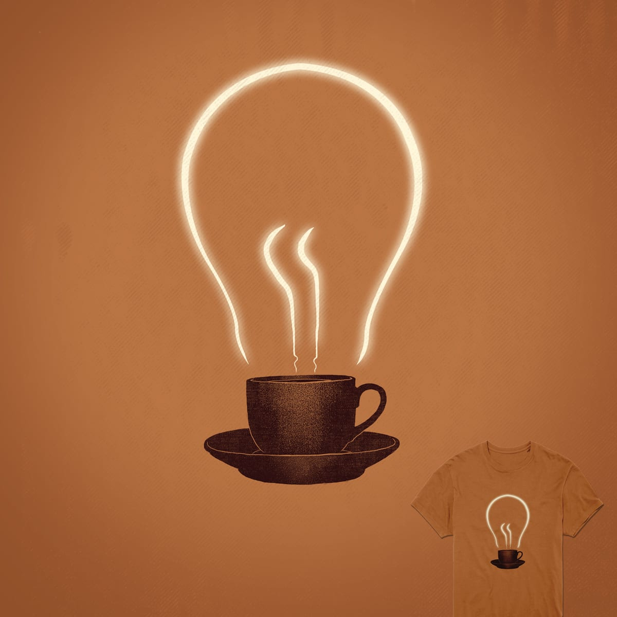 The power of coffee by digitalcarbine on Threadless