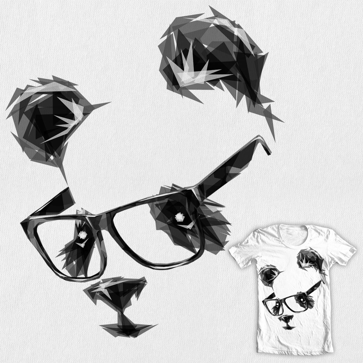 Hipsterrific Panda by Joe Conde on Threadless