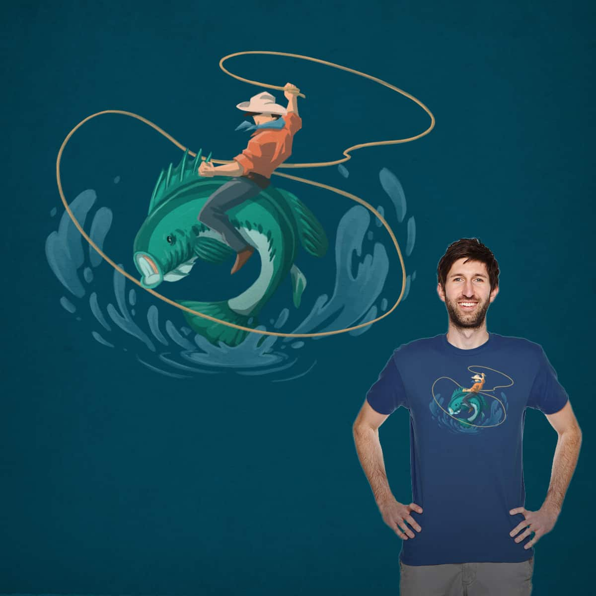 The Fishes of Tennessee by frafor521 on Threadless