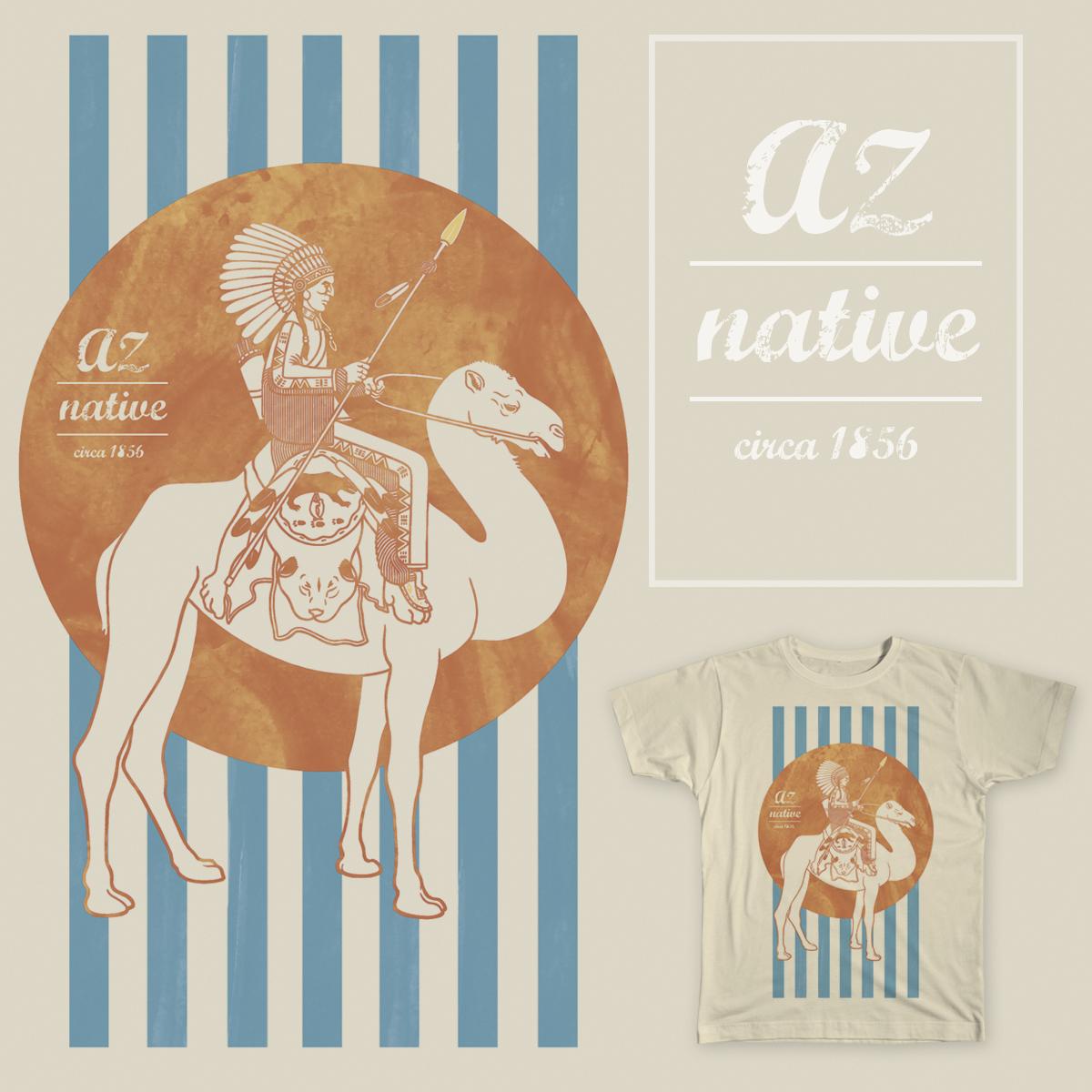 AZ Native by bdmolloy on Threadless