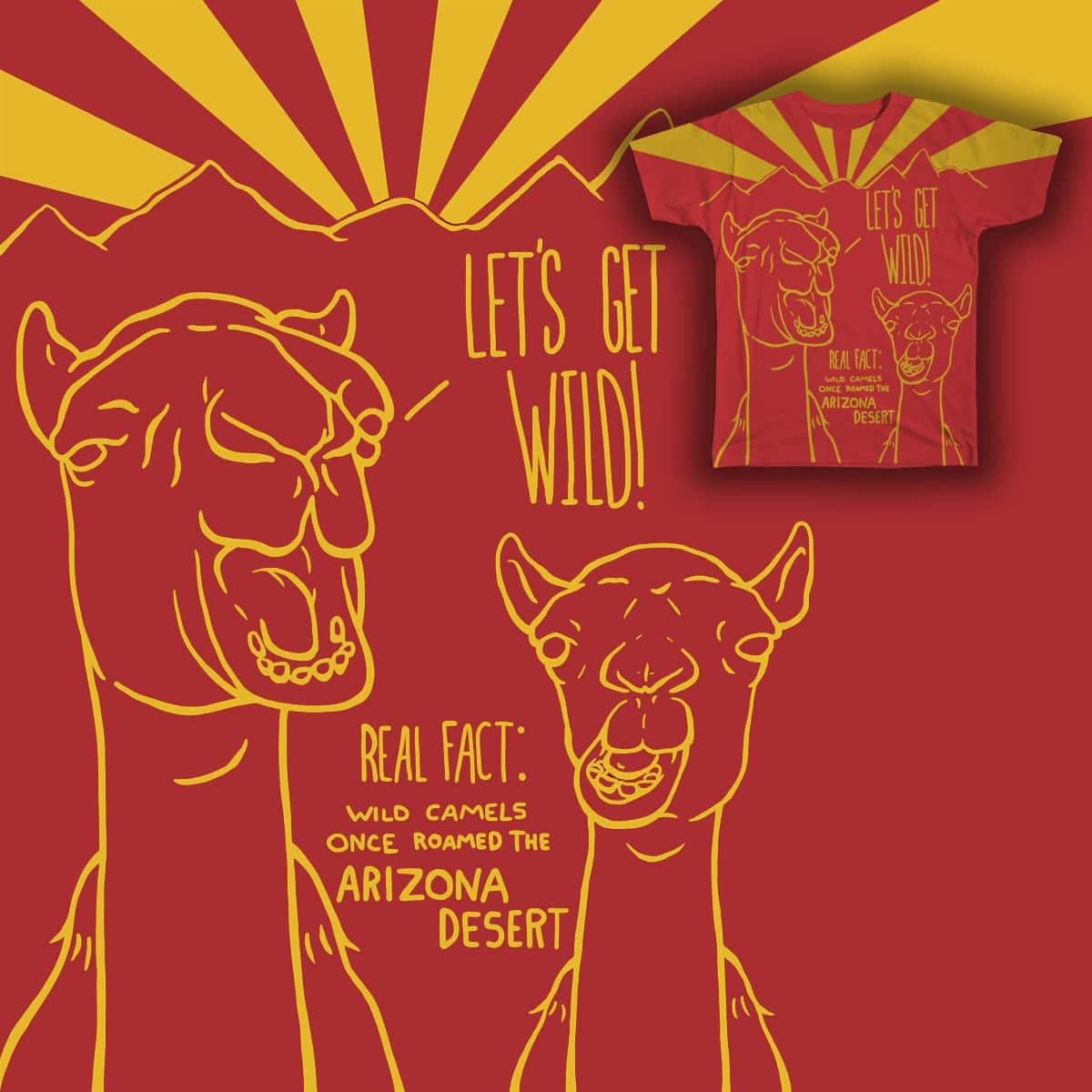 Let's Get Wild! by marshall724 on Threadless