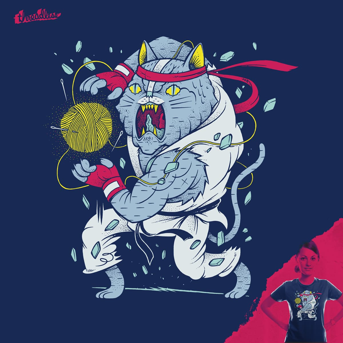 HADOUKAT by citizen rifferson on Threadless