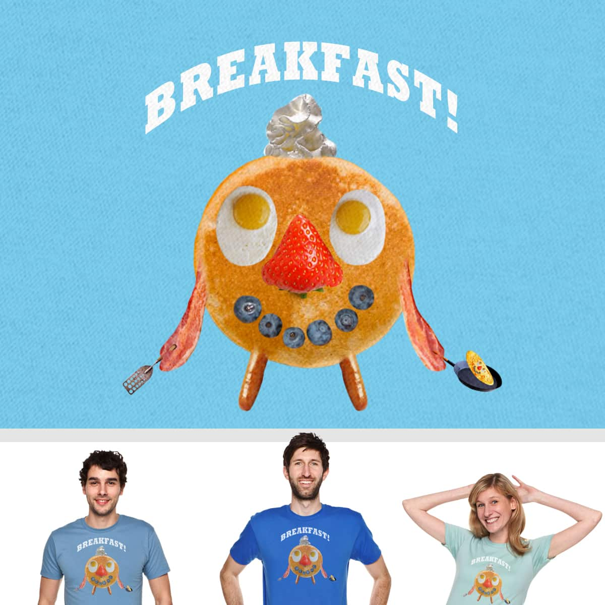 Flippin' Food Fred by SteveOramA on Threadless