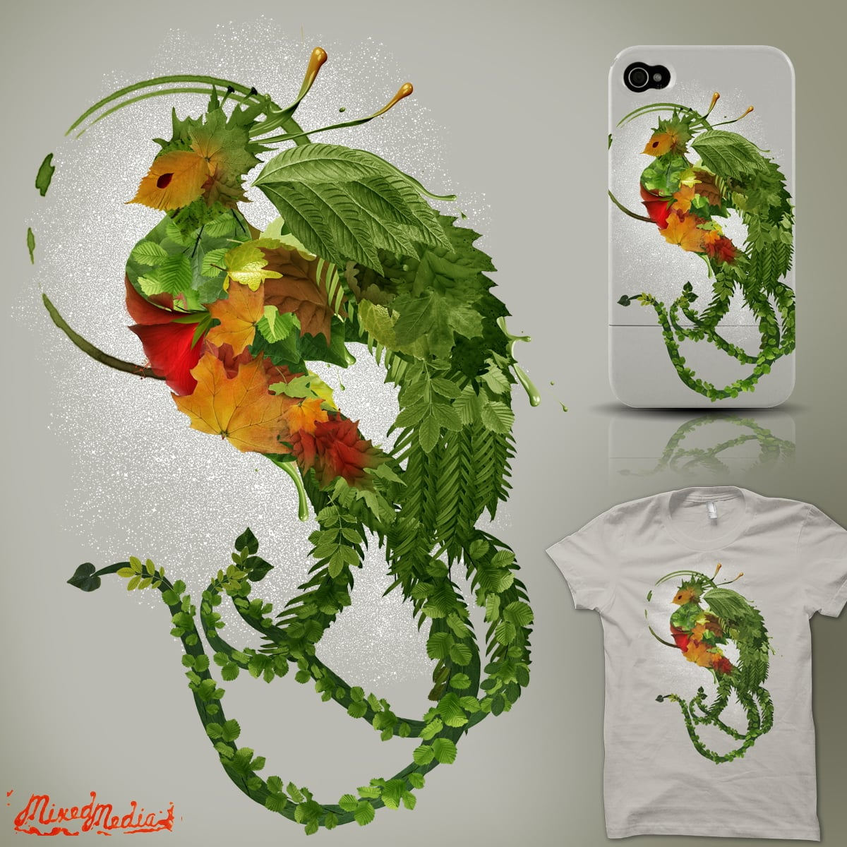 leaves at dawn by alnavasord on Threadless