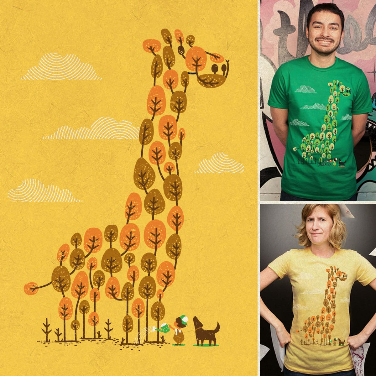 How Tall (High) Can You Grow by BubuSam on Threadless