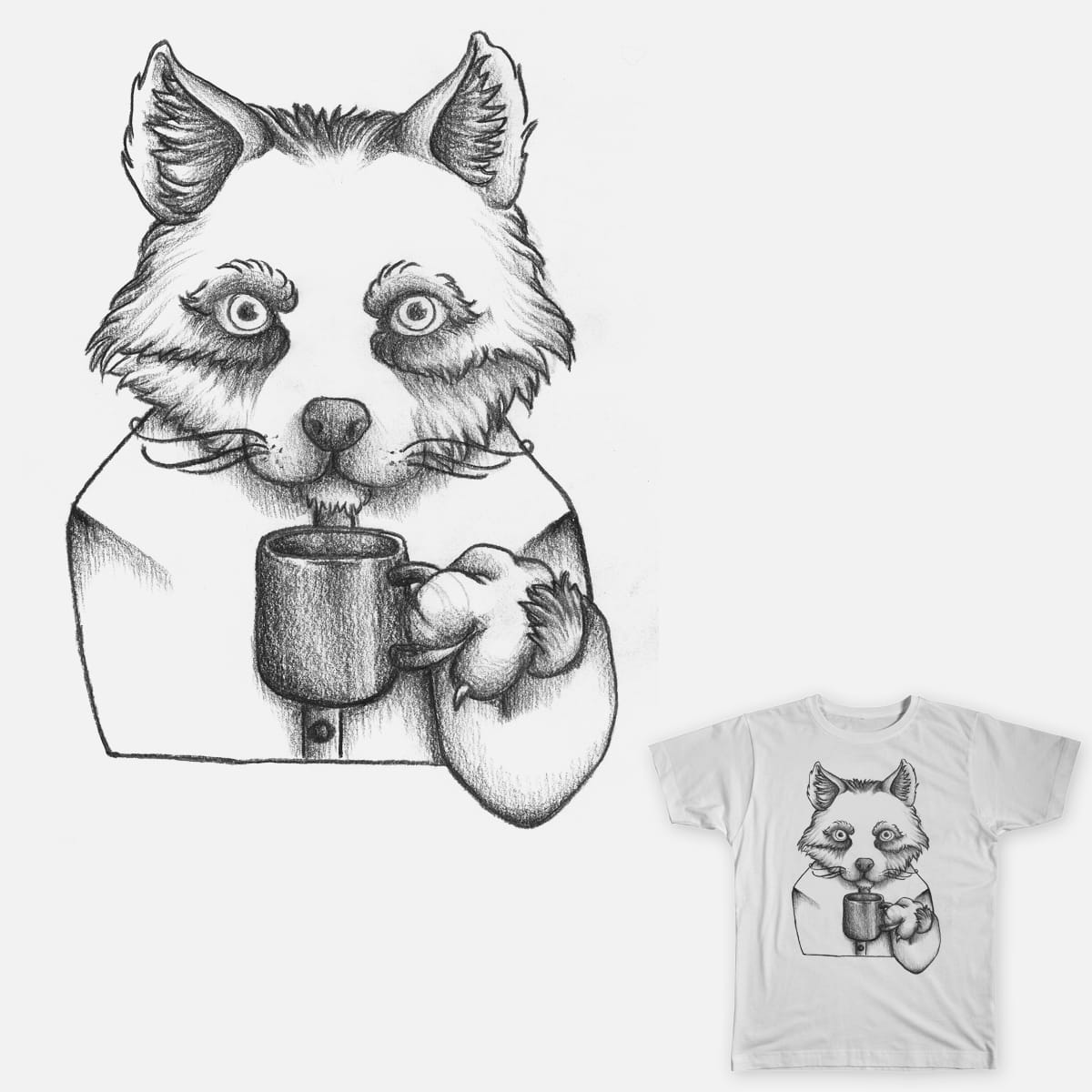 Asian Foxy by Tamate on Threadless
