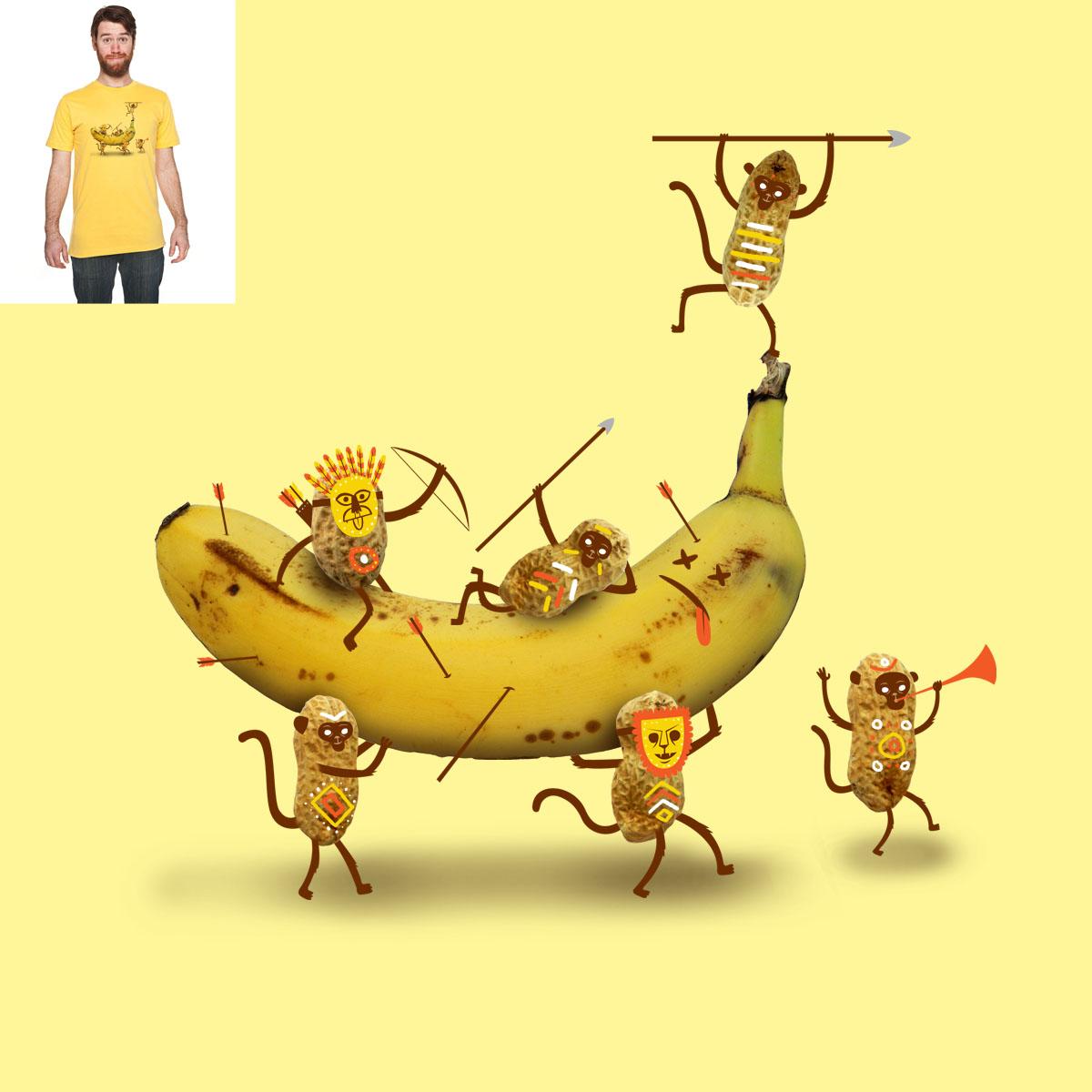 Monkeys areNuts by Wharton on Threadless